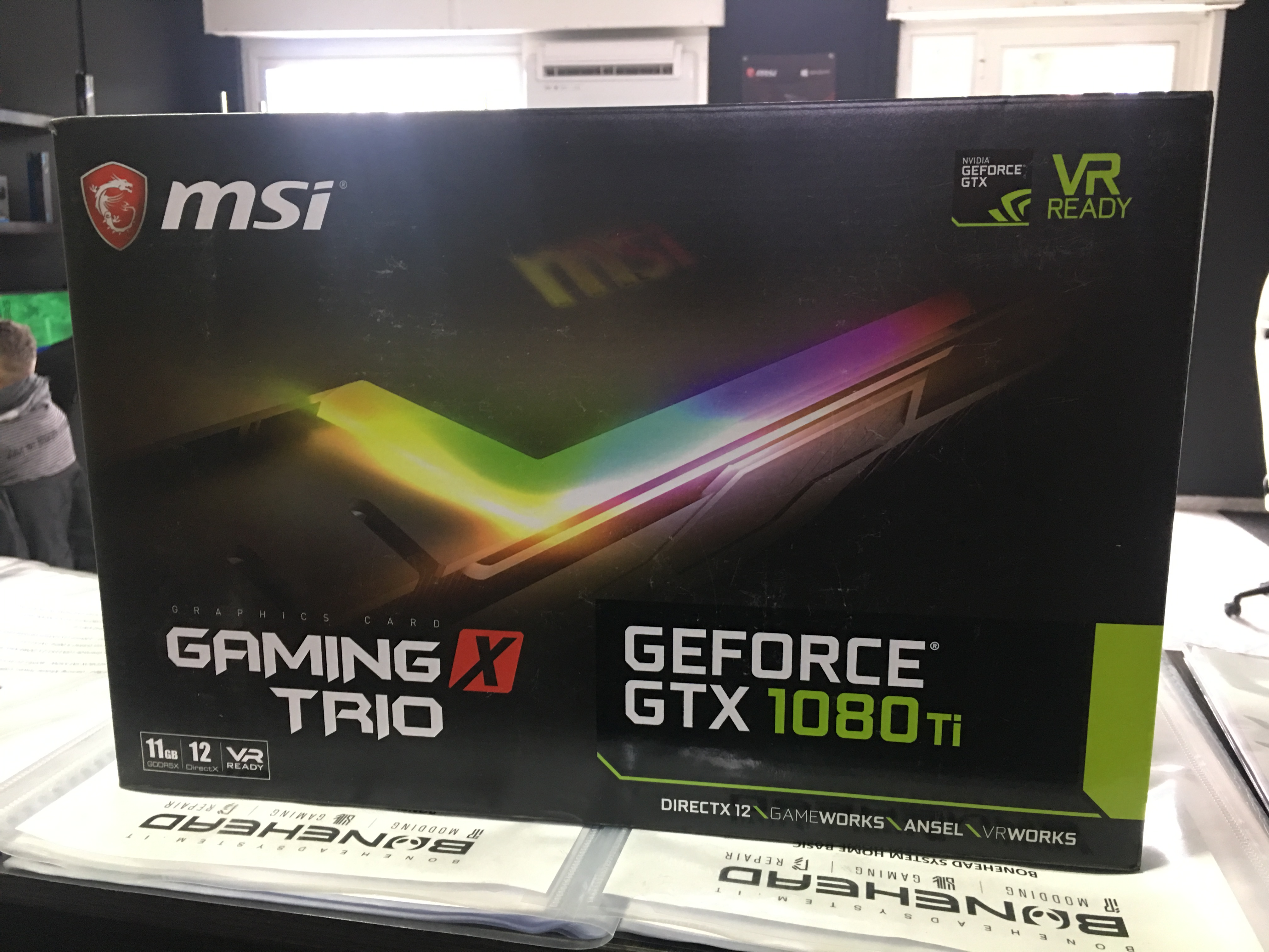 MSI NVIDIA GTX 1080Ti Trio, un tesoro perduto :D