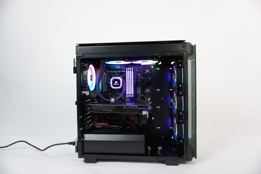 👽 Gaming build su Corsair 500D ARGB 👽